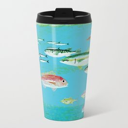 Fish Metal Travel Mug