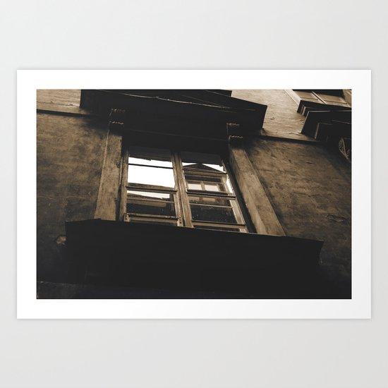 blind reflection Art Print