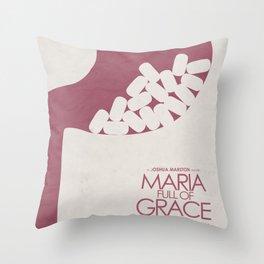 Maria Full of Grace, alternative movie poster, classic film, Joshua Marston, colombian, drug dealer Throw Pillow