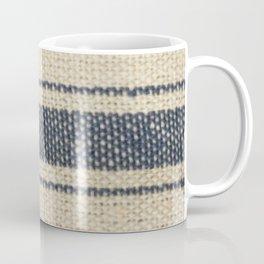 Vintage Farmhouse Grain Sack Edit Coffee Mug