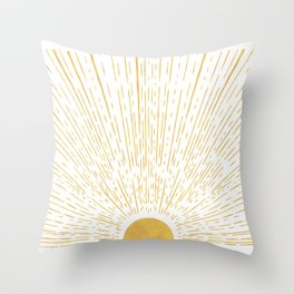 Sunny Ways Throw Pillow