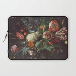 Jan Davidsz De Heem - Vase Of Flowers Laptop Sleeve