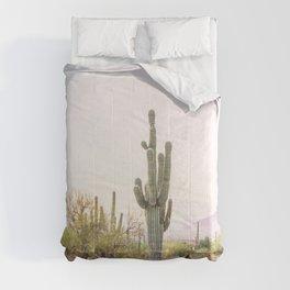 Cactus In The Desert Comforters