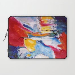 Come Down Isaiah 64 Christian Abstract Laptop Sleeve