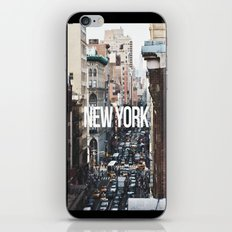 Streets of New York City iPhone & iPod Skin