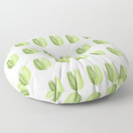 Palm leaves pattern Floor Pillow