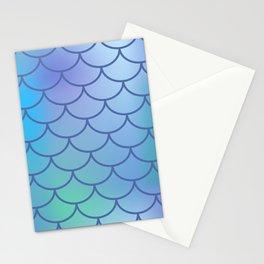 Blue & Purple Mermaid Stationery Cards
