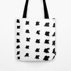 Pierre Pattern - Pure White Tote Bag