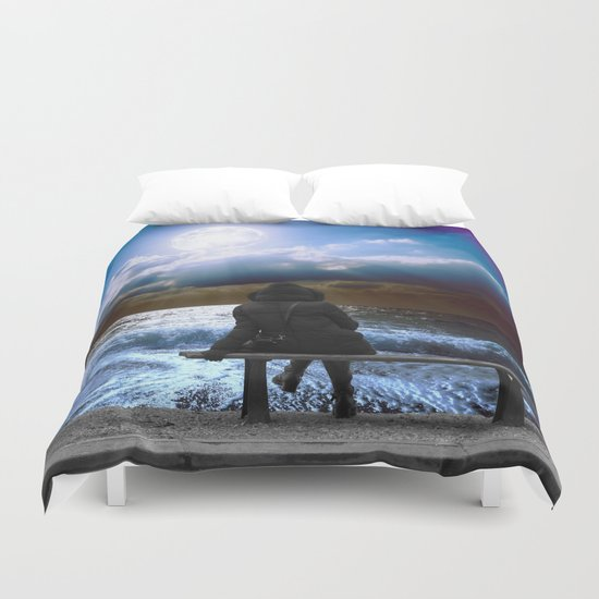 Night Wish Duvet Cover
