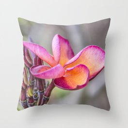 Siem Reap Flora Throw Pillow