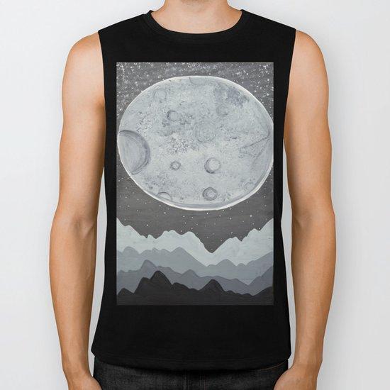 Super Moon Biker Tank