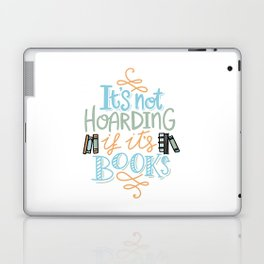 Hoarding Books Summer Colors Laptop & iPad Skin