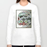 psychadelic Long Sleeve T-shirts featuring Psychadelic Storm Trooper by Just Bailey Designs .com