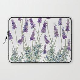 Lavender, Illustration Laptop Sleeve