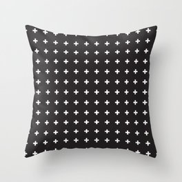 SWISS CROSSES Throw Pillow