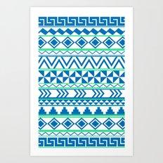 Tribal No. 3 Art Print