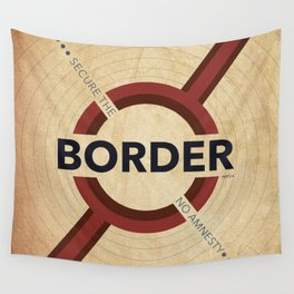 Secure The Border Wall Tapestry