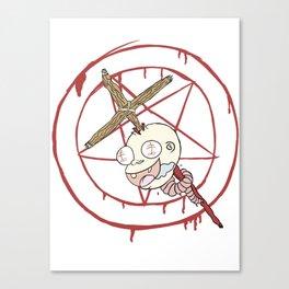 Evil Baby Canvas Print