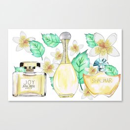Perfumes Series 2 Canvas Print