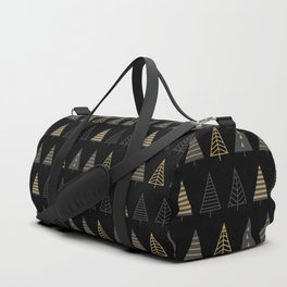 MODERN CHRISTMAS TREES 2 Duffle Bag