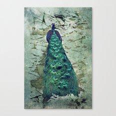 Peacock Dream Canvas Print