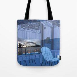 Sydney After Lunch Tote Bag