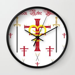 Knightly Order Notre Billstedt Wall Clock