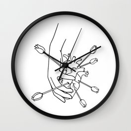From a full heart Wall Clock