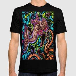 Abstract Mermaid T-shirt