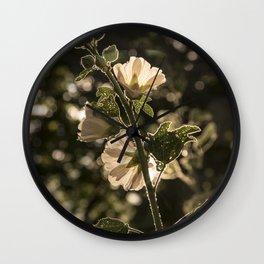 Sunlit beauty Wall Clock