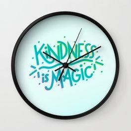 Kindness is Magic Wall Clock