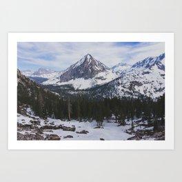 East Vidette - Pacific Crest Trail, California Art Print