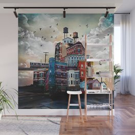 Urban Perspective Wall Mural
