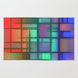 Abstract Design 6 Rug