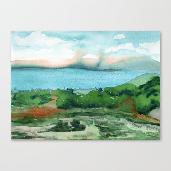 Passing Afternoon Canvas Print