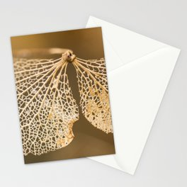 Lace hydrangea Stationery Cards