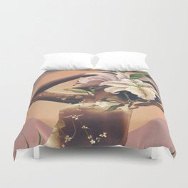 Floral beauty 3 Duvet Cover