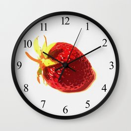Strawberry - Old Man of the Earth Wall Clock