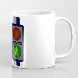 Walking Man Traffic Lights Coffee Mug