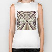 bridge Biker Tanks featuring Bridge by BarWy