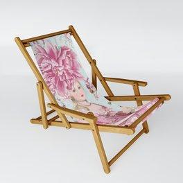 Marie Antoinette Wallflower Sling Chair