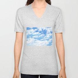 the sky Unisex V-Neck