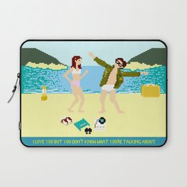 I Love You But Laptop Sleeve