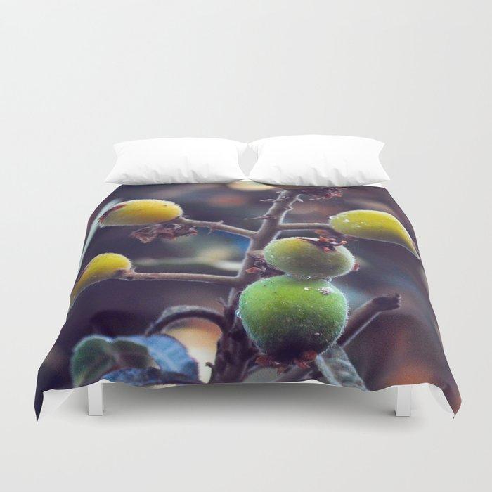 Exotic Fruits - Botanical Garden Duvet Cover