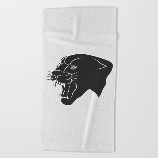 PANTHER Beach Towel