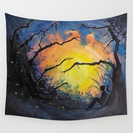 Soul Offering Wall Tapestry