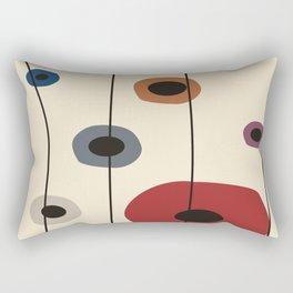 Circles of Six Rectangular Pillow