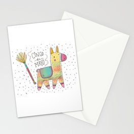 Cinco De Mayo Pinata Stationery Cards