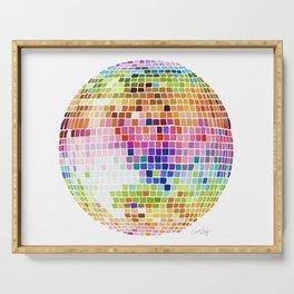 Disco Ball – Rainbow Serving Tray