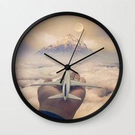 Control Your Dreams Wall Clock